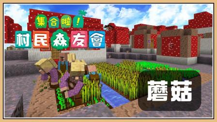 鬼鬼【我的世界】知名景点世界旅游~【集合啦!村民森友会#41】竟然有蘑菇村?