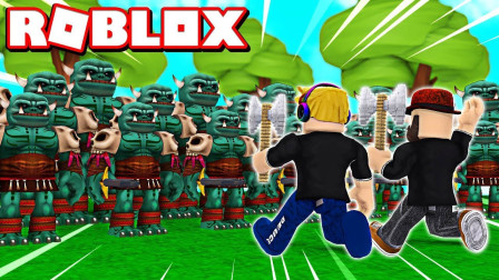 Roblox怪物猎人模拟器!大战怪兽获得隐藏宝箱!面面解说