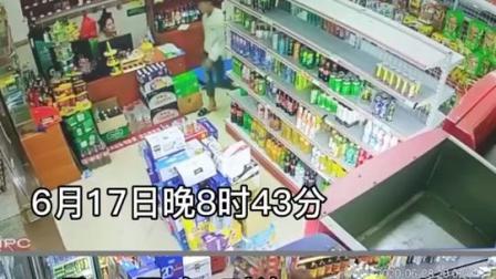 海南省儋州市那大镇,半个月之内两家超市收款箱被抢,手法极其相似
