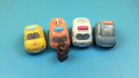 熊出没熊大分享小汽车玩具
