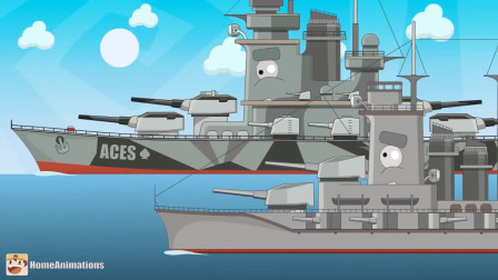 坦克世界:坦克轮船在海上遇险