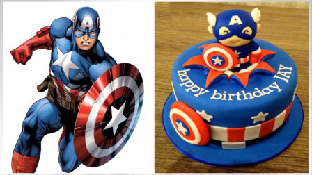 超级蛋糕:超级英雄版的生日蛋糕你见过吗?真是太会玩了