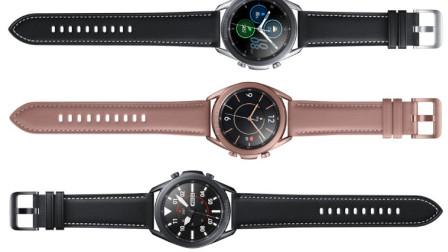 三星Galaxy Watch 3全方位渲染图曝光旋转表盘更轻薄