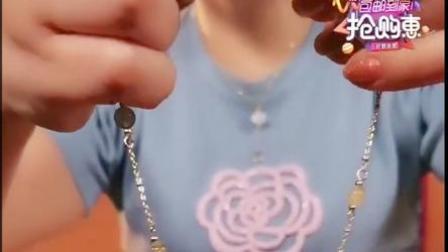 大有玄机 吉祥推荐 双层高品质水晶手链 草莓晶 月光石 金发晶