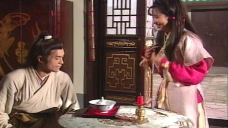 神雕侠侣:郭芙和小龙女同时给杨过做饭吃,谁料杨过的一动作暴露了他喜欢的是谁?