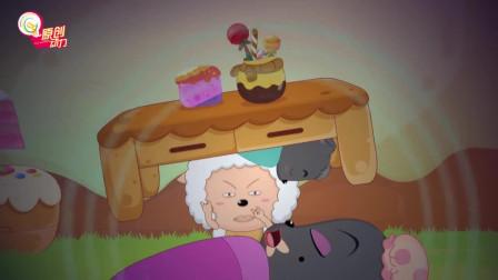 喜羊羊与灰太狼:睡觉时旁边有个打呼噜的人怎么办?懒羊羊表示:这不能忍!
