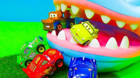托米卡迪斯尼汽车和仪表会从鲨鱼那里帮助露易兹