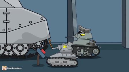 坦克世界:红眼坦克苏醒了