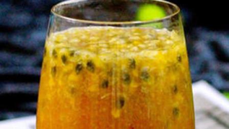 百香果蜂蜜水的制作方法