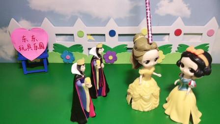 两位公主能认出来谁是真正的王后吗