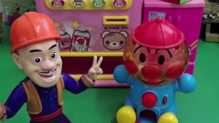 乔治来玩玩具了,光头强糖豆被巨人僵尸拿走了,乔治帮忙拿回来了