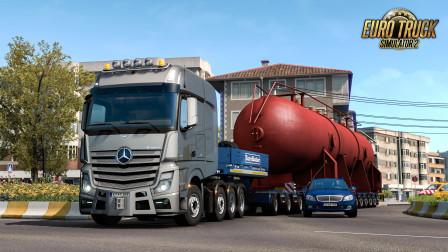 欧洲卡车模拟2 #332:新特种运输线之伊斯坦布尔→埃迪尔内 | Euro Truck Simulator 2