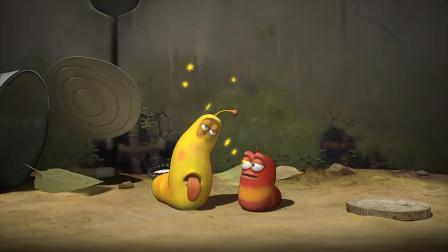 搞笑动画短片《爆笑虫子》,两只笨虫冰淇淋没吃上反被蜗牛打,晚上还要被蚊子吸干