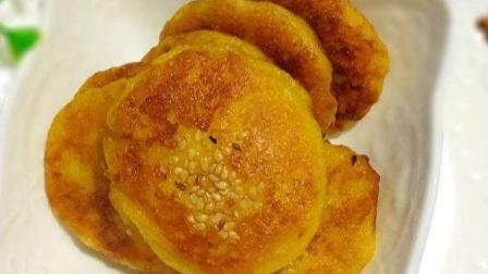 香甜柔软的鸡蛋红薯饼