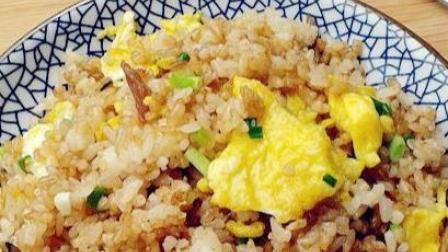 怎么做美味的酱油蛋炒饭?