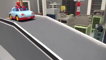 蜘蛛人,坐车下坡路, 汪汪队立大功玩具