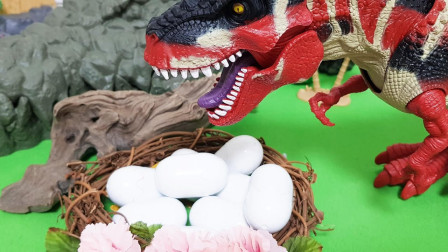 在鳄鱼洞穴里放入卵的话就会诞生恐龙~但是!突然出现的歹徒偷走了蛋?究竟会发生什么事情呢?