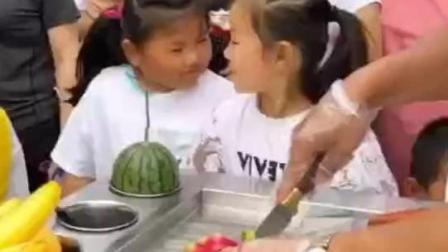 出摊神器-火龙果炒酸奶