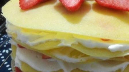 如何制作千层蛋糕?