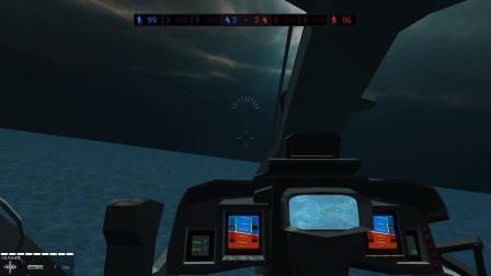 战地模拟器:外星人的战舰入侵了,驾驶攻击直升机消灭它