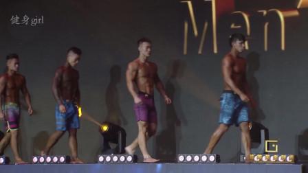 健美黄金联赛:男子健体先生青年组!