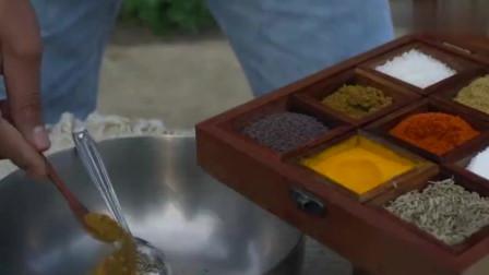 印度大叔的美味米饭料理,干净又卫生,你从未了解过的印度!