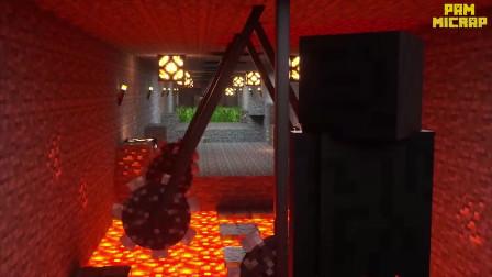 我的世界动画-怪物学院-洞穴冲关挑战-RO Brawler