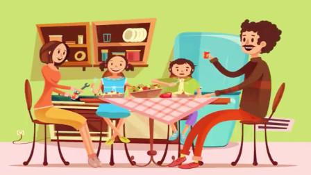 逻辑推理:正在吃饭的一家人,哪里不正常?