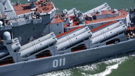 最强武库舰,可瞬间发射250枚火箭弹,全世界只有中国有