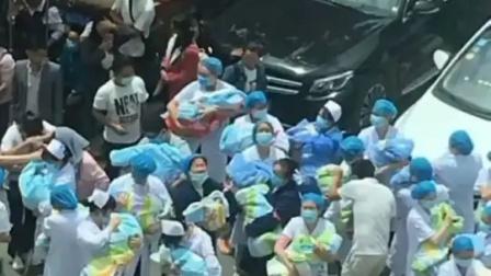 感动!贵州赫章县发生4.5级地震,地震瞬间,产科医生立马把新生儿抱下楼!