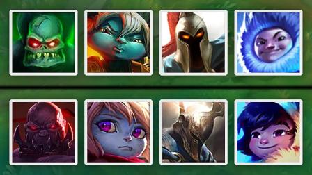 LOL:新老版本英雄的对决,你更喜欢哪个版本?