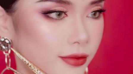 萨瓦迪卡~这次是传统泰式妆容!有内味儿了吗?