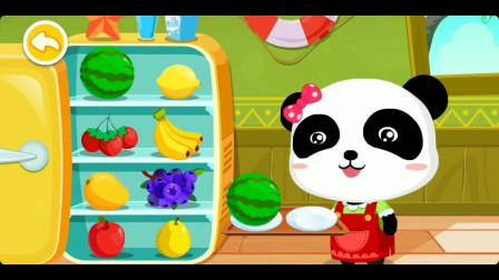 兔依依的三味冰淇淋球味道好赞哦!宝宝巴士游戏。