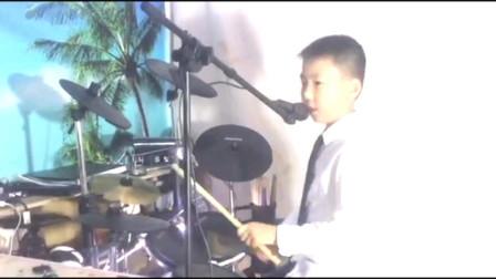 架子鼓《星际迷航》演奏者瓦力川