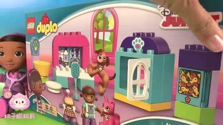 麦芬小医生积木玩具:麦芬小医生动物医院玩具
