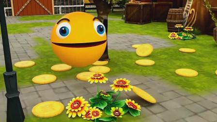 有了摇钱树的吃豆人这些可以无限玩投币机了!吃豆人游戏