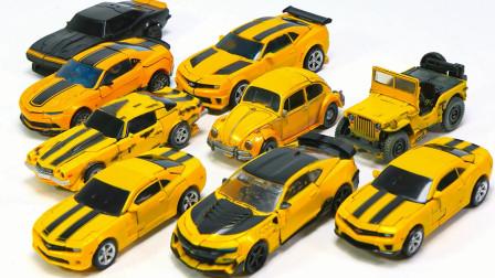变形金刚电影Transformers1 2 3 4 5 6 6 bumblebee Deluxe Class 卡玛洛甲壳虫吉普车 汽车机器人玩具