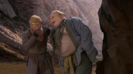 西游记:八戒天生胆小,前去询问情况,没想把自己吓拉裤子了