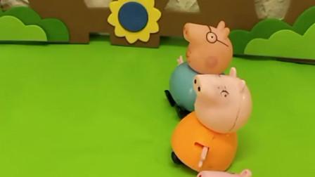 给小猪一家发糖果,让大家安静一点,不可以再聊天了
