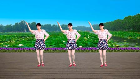 广场舞《若有缘再相见》优美抒情32步大众健身舞