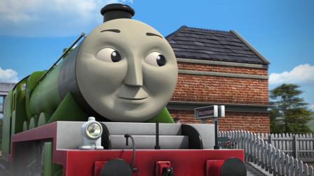 托马斯和他的朋友们:特快车高登去拉货车箱,这一点也不酷