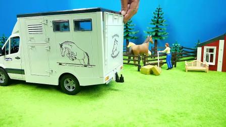 专门拖动物的货车见过吗