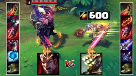 LOL:诺手VS剑圣,流血,双刀到底谁更强!