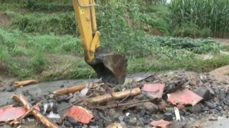 新闻30分 2020 安徽宣城·强降雨致民房被淹 开闸泄洪保汛期安全