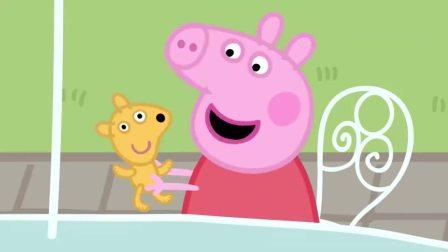 小猪佩奇:山羊烹饪美味披萨,猪爸狂吹彩虹屁,论一个吃货的修养