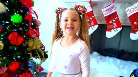美国儿童时尚,爸爸和萌娃一起为圣诞节准备礼物,真是勤劳呀