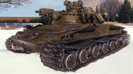 坦克世界神操作:苏系907依旧T1梯队!十二次击毁的实力万伤!