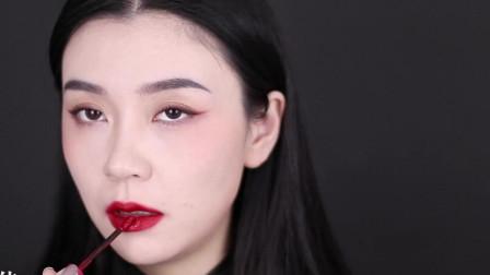 娘man结合国潮妆,结合中国风元素改良,炫酷又日常!