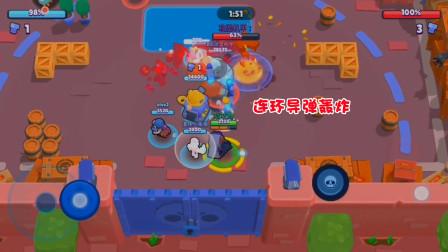 咕咕鸡解说:荒野乱斗 连环导弹的轰炸 这机器人也抵挡不住