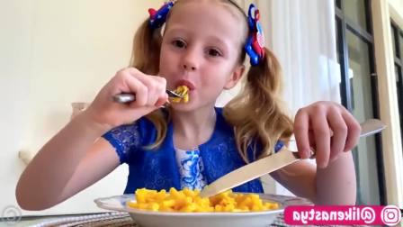 美国儿童时尚, 小萝莉关于冰淇淋和糖果的故事,和他的爸爸